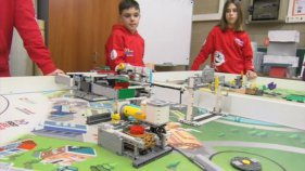 AROBOT A LA GRAN FINAL DE LA FIRST LEGO LEAGUE