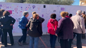 Calonge-Sant Antoni commemora el 8M amb un collage popular