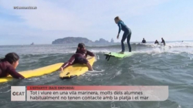 CONNECTICAT - Surf a l'escola Portitxol de L'Estartit
