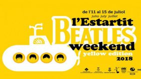 El submarí groc és protagonista de l'Estartit Beatles Weekend