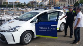 La Policia Local de Palamós incorpora un nou vehicle híbrid