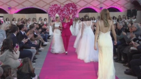 Maria Fort omple el Castell de Calonge de princeses amb la 'Wedding Pink Party'