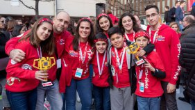 Dos equips de l'escola Els Estanys a la final estatal de la First Lego League